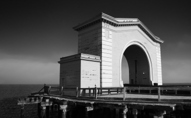 Ferry Arch, Pier 43, Fishermans Wharf, San Francisco