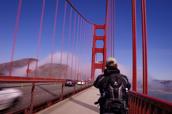 Golden Gate Bridge, Presidio, San Francisco