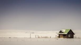 Haus am Skogafoss