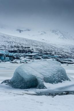 Gletscherzunge Svinafellsjökull